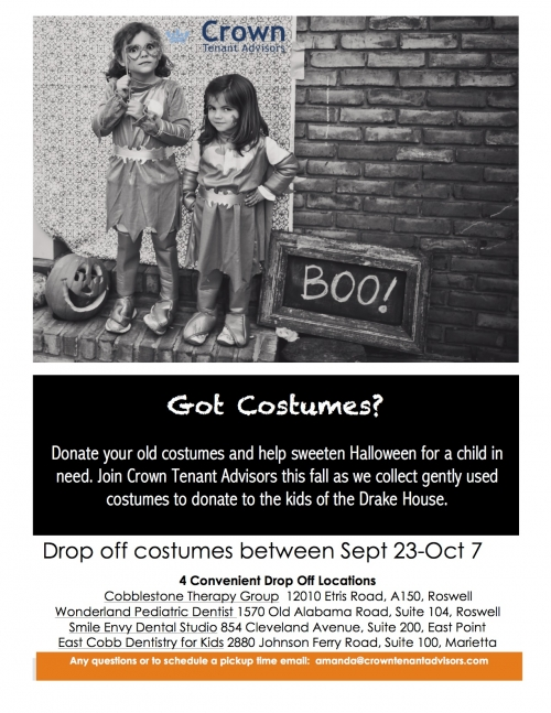 Family Dentist East Point GA 30344 | Got Costumes? We Need Your Help!!!